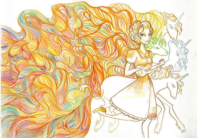 Rainbow Uni by Jem Yoshioka