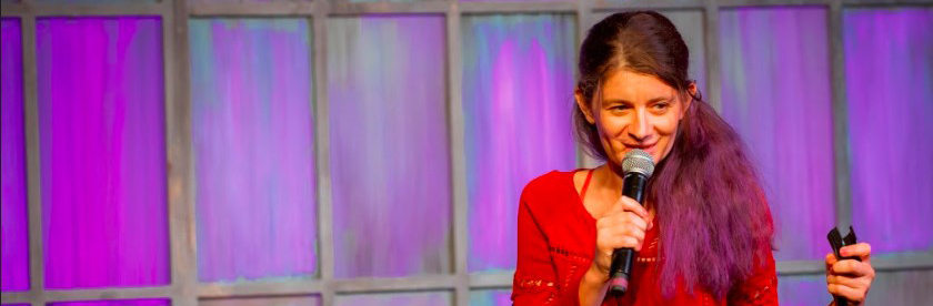 Nadia at Second City Chicago tells a 99 second story