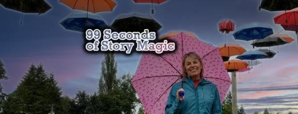 Silvana Clark tells a 99 second stranger Danger Story